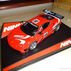 Slot Cars: NINCO. FERRARI 360 GTC. PRORACE. REF. 50455. Lote 95978903