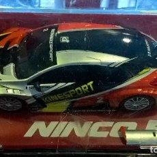Slot Cars: SCALEXTRIC COCHE RENAULT MEGANE TROPHY´09 KINESPORT DE NINCO . Lote 95108031