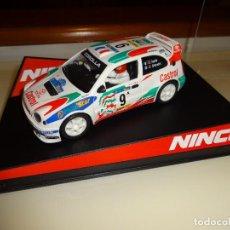 Slot Cars: NINCO. TOYOTA COROLLA CASTROL. Nº9. AURIOL. REF. 50166. Lote 95844335
