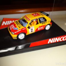 Slot Cars: NINCO. CITROEN SAXO. DANI SOLA. REF. 50290. Lote 95844743