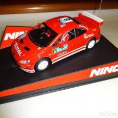 Slot Cars: NINCO. PEUGEOT 307 WRC. PRORACE. REF. 50399. Lote 95844859