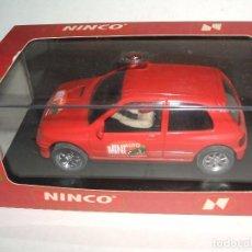 Slot Cars: RENAULT CLIO 16V REVISTA MINIAUTO DE NINCO. Lote 96109507