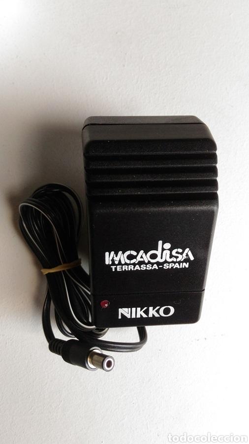 CARGADOR IMCADISA NIKKO ÚNICA 7,2V REF.00100 (Juguetes - Slot Cars - Ninco)