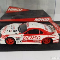Slot Cars: TOYOTA SUPRA DENSO NINCO 50382 PARA PIEZAS. Lote 97786351