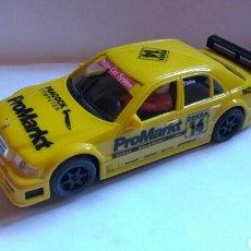 Slot Cars: MERCEDES AMG C-KLASSE AMARILLO NINCO. Lote 98038056