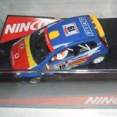 Slot Cars: FIAT PUNTO SUPER 1600 DE NINCO REF.-50336. Lote 98201183
