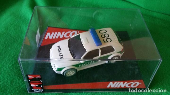 VOLKSWAGEN GOLF POLIZEI – POLICIA ALEMANA – NINCO (Juguetes - Slot Cars - Ninco)