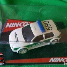 Slot Cars: VOLKSWAGEN GOLF POLIZEI – POLICIA ALEMANA – NINCO. Lote 99260387
