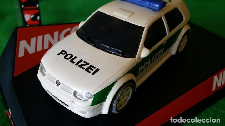 Slot Cars: Volkswagen Golf Polizei – Policia Alemana – Ninco - Foto 2 - 99260387