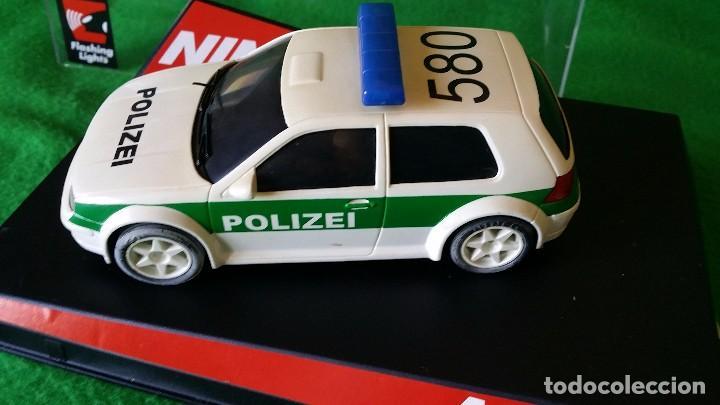 Slot Cars: Volkswagen Golf Polizei – Policia Alemana – Ninco - Foto 3 - 99260387