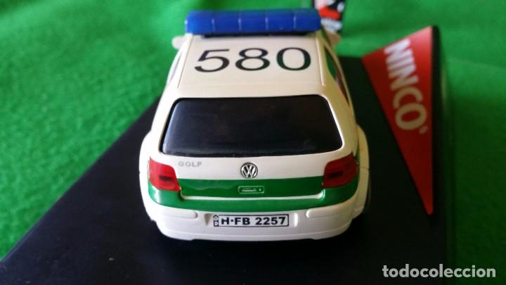 Slot Cars: Volkswagen Golf Polizei – Policia Alemana – Ninco - Foto 4 - 99260387
