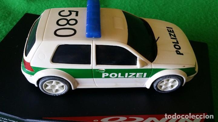 Slot Cars: Volkswagen Golf Polizei – Policia Alemana – Ninco - Foto 5 - 99260387