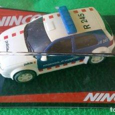Slot Cars: VOLKSWAGEN GOLF MOSSOS D´ESQUADRA – NINCO. Lote 99260507