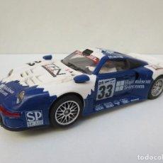 Slot Cars: PORSCHE 911 GT1 HUTCHINSON TELECOM, DE NINCO. Lote 101639427