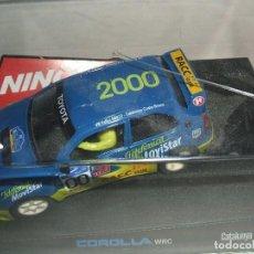 Slot Cars: TOYOTA COROLLA NINCO REF.-50202. Lote 104041563
