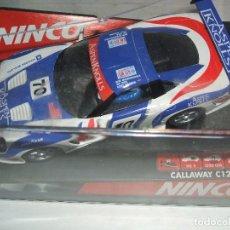 Slot Cars: CALAWAY C 12 LE MANS DE NINCO REF.-50255. Lote 104076087