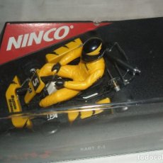 Slot Cars: KART F-1 YELLOW DE NINCO REF.-50224. Lote 104136003