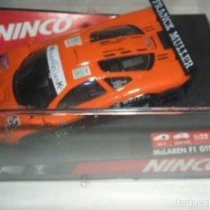 Slot Cars: MCLAREN F1 GTR DE NINCO REF.- 50232. Lote 104166039