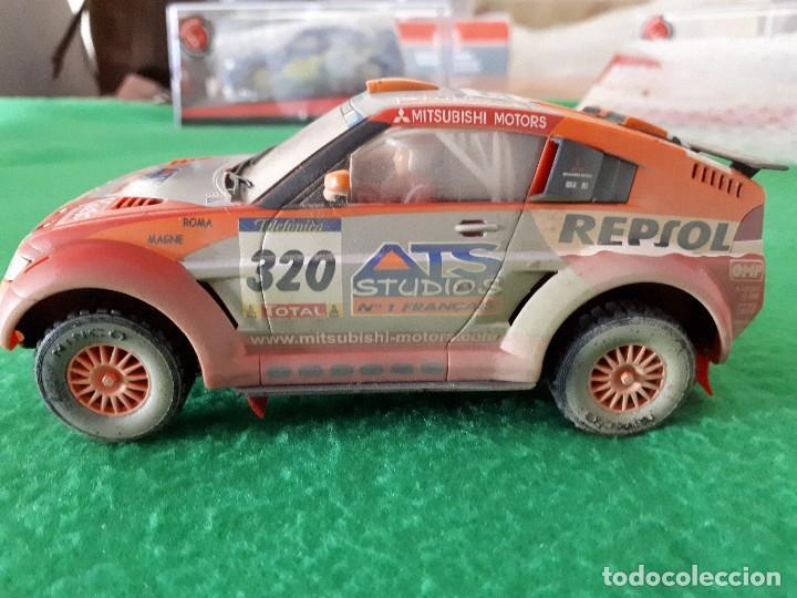 Slot Cars: Mitsubishi Montero – Colección Ninco Salvat – Efecto Barro - Foto 3 - 105918611