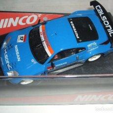 Slot Cars: NISSAN 350Z DE NINCO REF.-50417. Lote 105981579