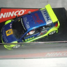 Slot Cars: RENAULT MEGANE DE NINCO REF.-50438. Lote 105981751