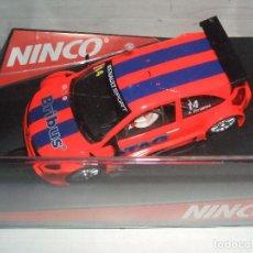Slot Cars: RENAULT MEGANE DE NINCO REF.-50405. Lote 105981767