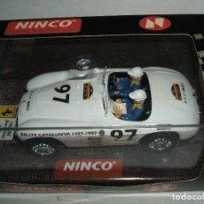 Slot Cars: FERRARI 166 MM R.A.C.C DE NINCO REF.-50136 . Lote 105982363