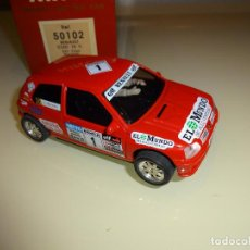Slot Cars: NINCO. RENAULT CLIO ROJO 16V. REF. 50102. Lote 107112343