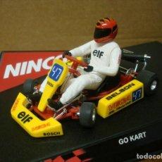 Slot Cars: NINCO GO CART BELSON REF 50215 NUEVO CON SU CAJA ORIGINAL. Lote 111400235
