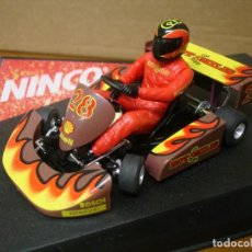 Slot Cars: NINCO SUPER KART HOT CHILIS TEAM REF 50239 NUEVO CON SU CAJA ORIGINAL. Lote 111400575