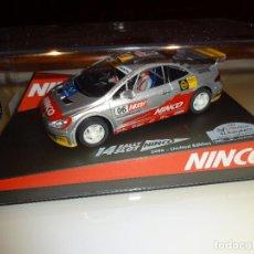 Slot Cars: NINCO. PEUGEOT 307 RACC DRIVERS ED.LTA. 2006 REF 50410. Lote 114389535