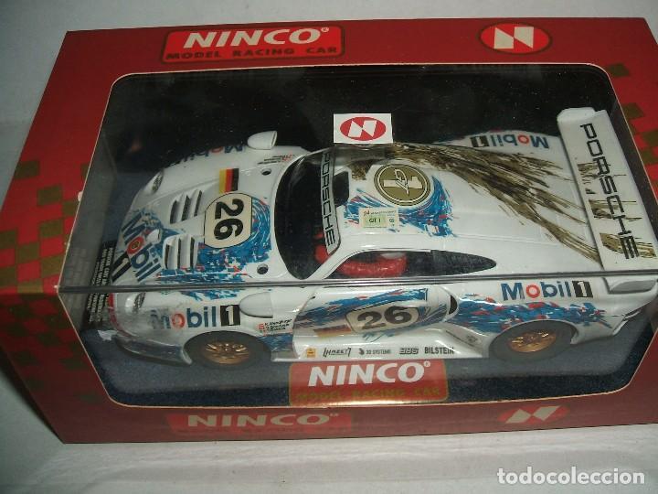 PORSCHE 911 GT1 Nº26 DE NINCO REF.-50149 (Juguetes - Slot Cars - Ninco)