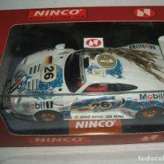 Slot Cars: PORSCHE 911 GT1 Nº26 DE NINCO REF.-50149. Lote 117044143