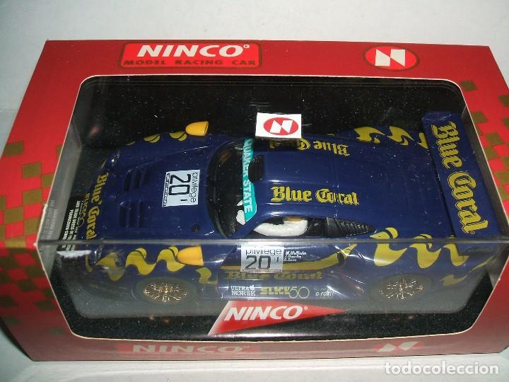 PORSCHE 911 GT1 DE NINCO REF.-50175 (Juguetes - Slot Cars - Ninco)