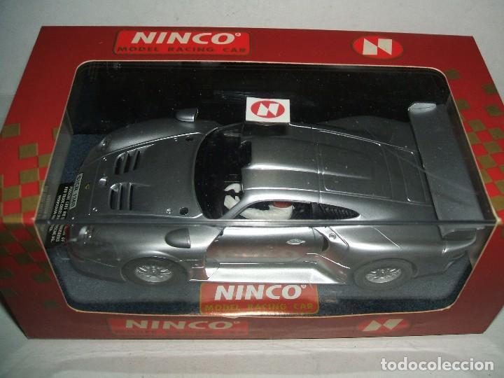 PORSCHE 911 GT1 DE NINCO REF.-50148 (Juguetes - Slot Cars - Ninco)