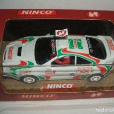Slot Cars: TOYOTA CELICA GT CASTROL DE NINCO REF.-50109. Lote 117045167