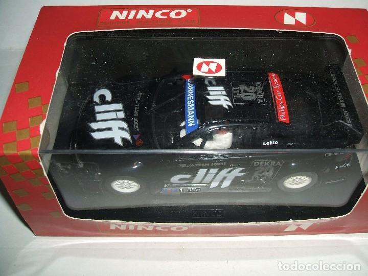OPEL CALIBRA V6 CLIFF DE NINCO REF.-50115 (Juguetes - Slot Cars - Ninco)