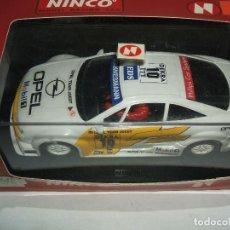 Slot Cars: OPEL CALIBRA V6 DE NINCO REF.-50114. Lote 117052359