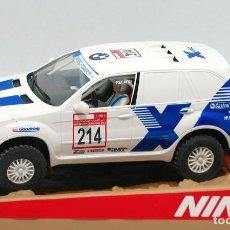 Slot Cars: BMW X5 EDICIÓN RAID SALVAT (NINCO) ¡NUEVO!. Lote 117557975