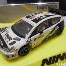 Slot Cars: NINCO CITROËN C4 WRC REMEMBER PETER SOLBERG. Lote 118746687