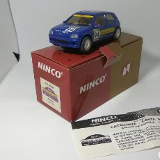 Slot Cars: NINCO RENAULT CLIO 16 V RACC 1994. Lote 118851287