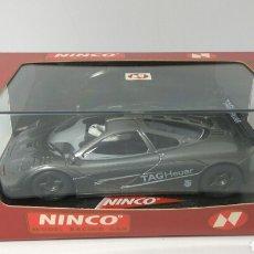 Slot Cars: NINCO MCLAREN F1 GTR TAG HEUER REF. 50171. Lote 118851655