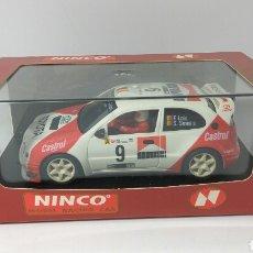 Slot Cars: NINCO TOYOTA COROLLA RALLYE PORTUGAL REF. 50176. Lote 118851831