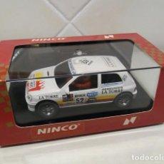 Slot Cars: SLOT NINCO RENAULT CLIO 16V XXIV COPA NACIONAL 92. Lote 118876423