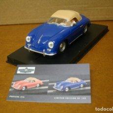 Slot Cars: NINCO PORSCHE 356 AZUL GOOD WOOD REF 91007 NUEVO CON SU CAJA ORIGINAL . Lote 118942279