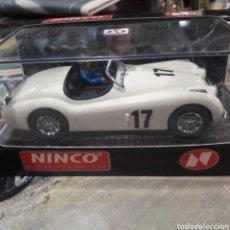Slot Cars: JAGUAR XK 120 MARFIL NINCO. Lote 120187475