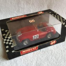 Slot Cars: FERRARI 166 MM LE MANS 1949 NINCO. Lote 120914431