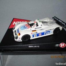 Slot Cars: ANTIGUO BMW V12 LM Nº 1 FINA REF. 50192 DE NINCO. Lote 121122739