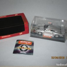 Slot Cars: PORSCHE 911 GT1 ROAD CAR REF. 50148 DE NINCO. Lote 121123551
