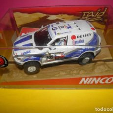 Slot Cars: BMW X5 X-RAID 03 NINCO . Lote 125310479